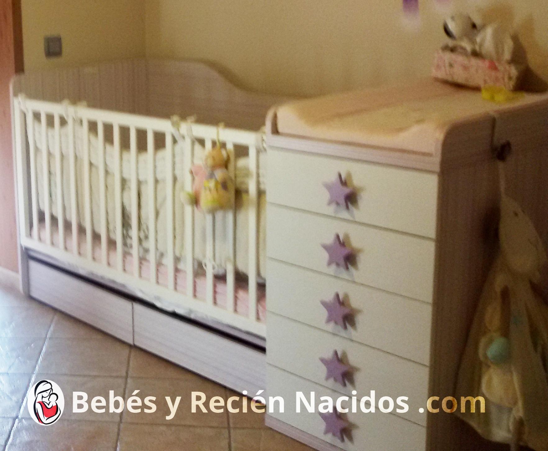 Mobiliario Infantil Para El Dormitorio De Un Recien Nacido Bebes - Cunas-recien-nacidos