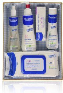 pack productos mustela para el bebe