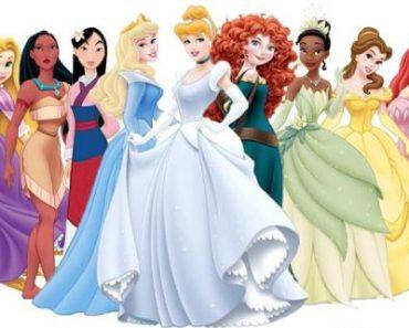 Nombres de Princesas Disney