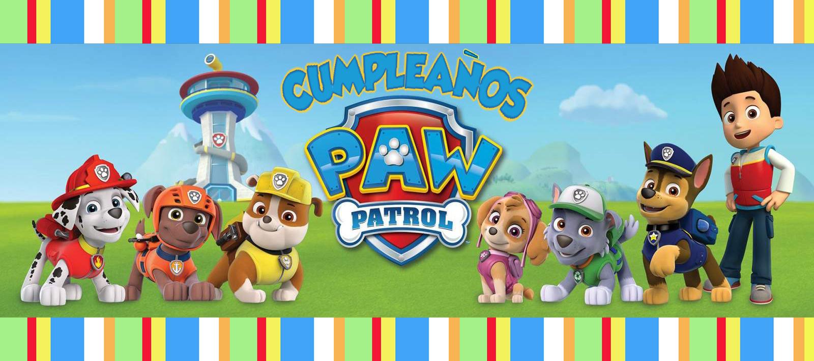 La Patrulla Canina Fiestas Temáticas Para Niños