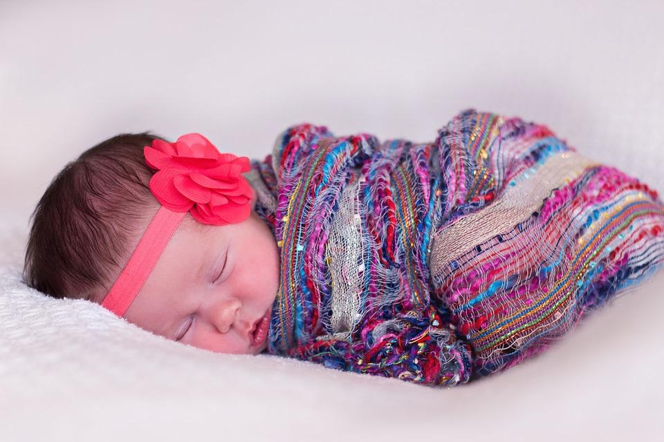 bebe niña dormida