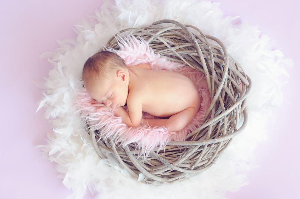 recien nacido dormido