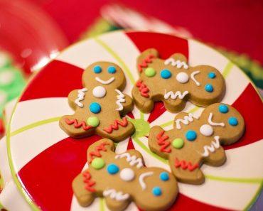 Galletas de Navidad o pan de jengibre (Gingerbread Men Cookies)