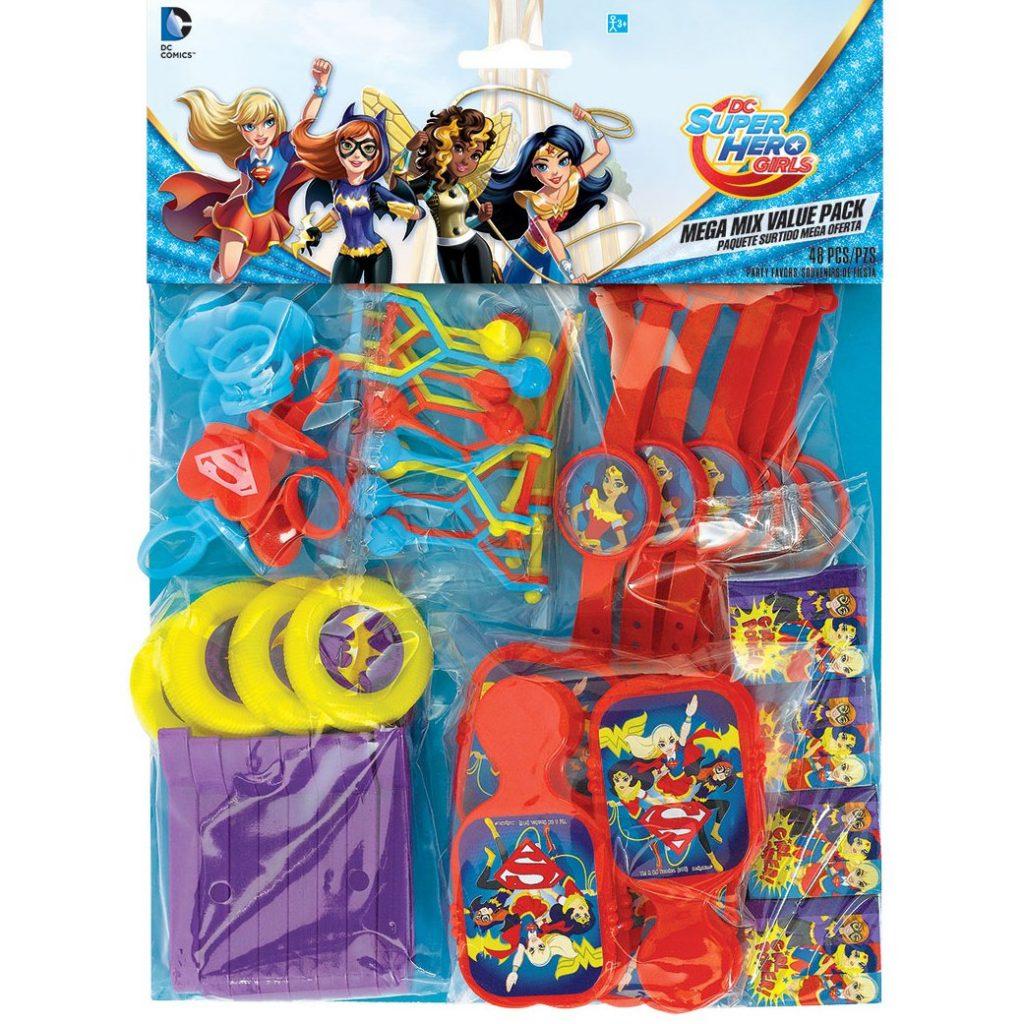 detalles de las super hero girls