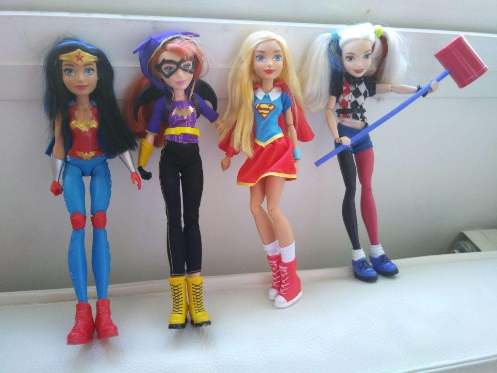 muñecas super hero girls