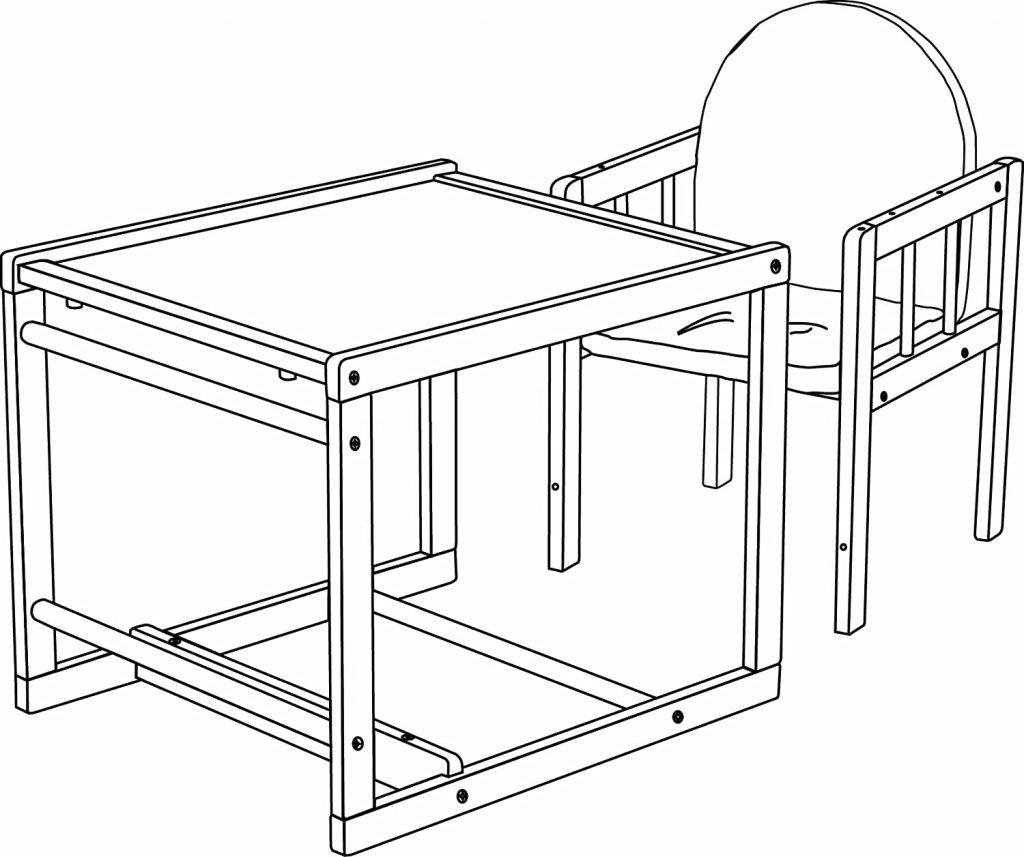 trona convertible escritorio