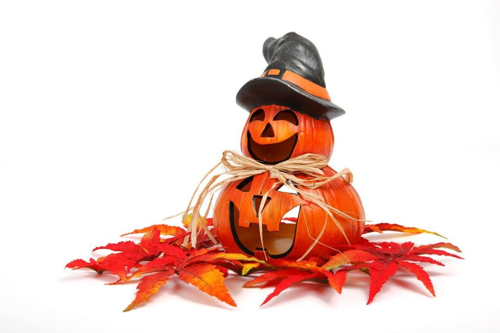 halloween y castañada con niños
