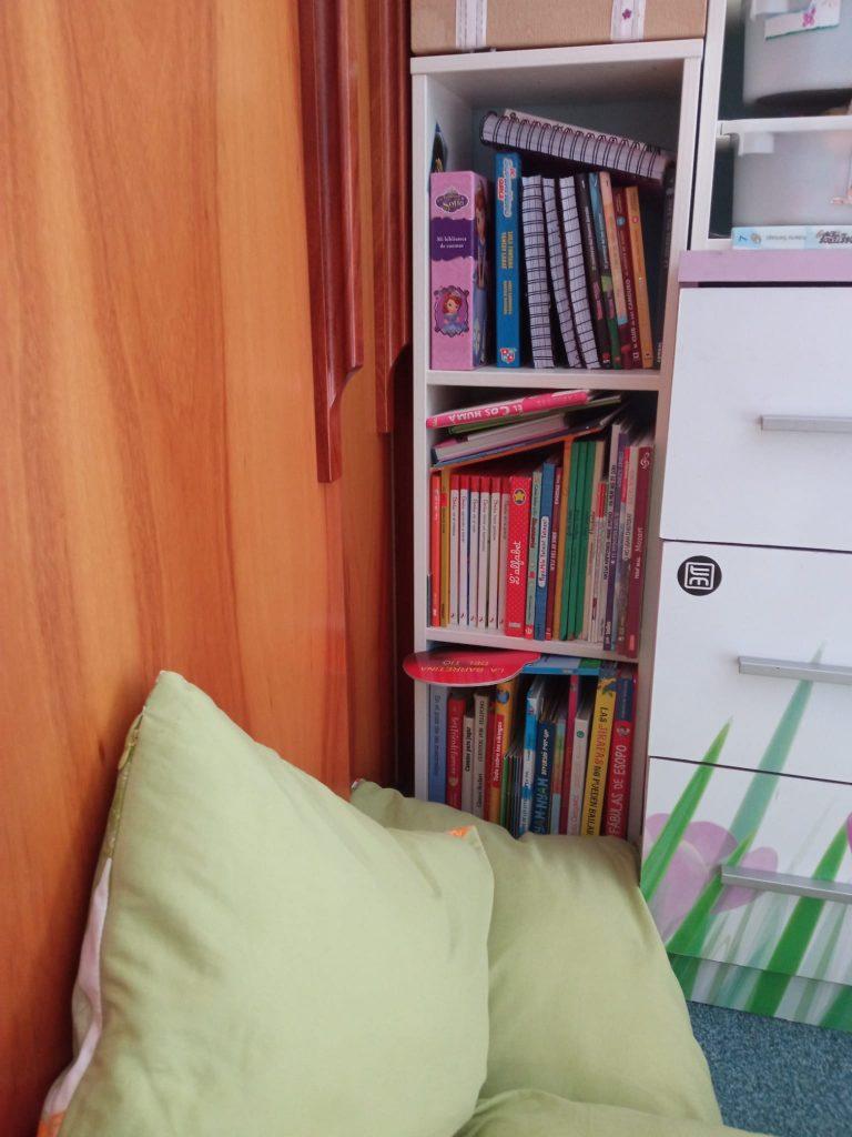 rincón de casa para fomentar la lectura en los niños